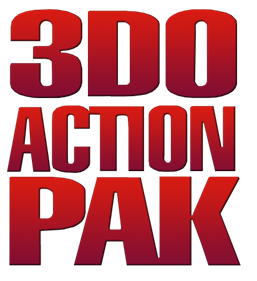 3DO Action Pak - Clear Logo
