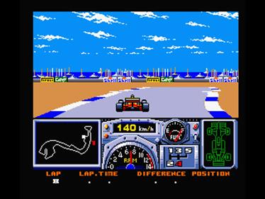 F-1 Spirit 3D Special - Screenshot - Gameplay