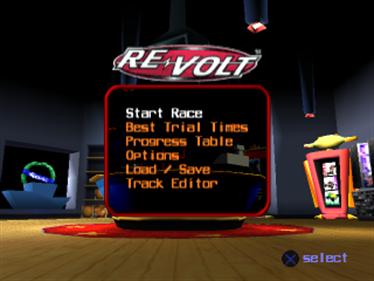 Re-Volt - Screenshot - Game Title