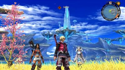 Xenoblade Chronicles - Screenshot - Gameplay