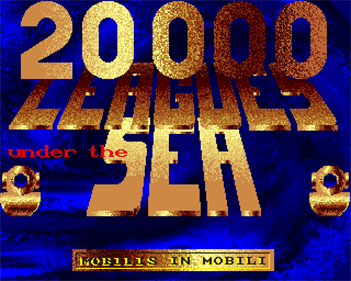 20000 Leagues Under the Sea - Screenshot - Game Title