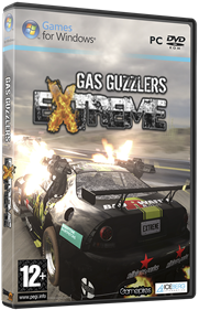Gas Guzzlers Extreme - Box - 3D