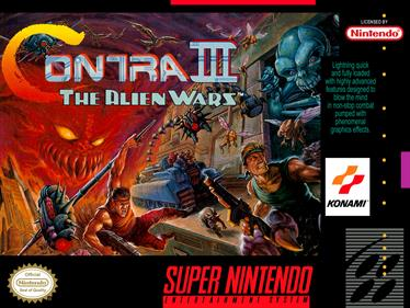 Contra III: The Alien Wars - Box - Front