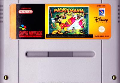 Mickey Mania: The Timeless Adventures of Mickey Mouse - Cart - Front