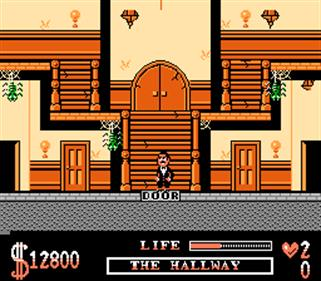 The Addams Family - Screenshot - Gameplay