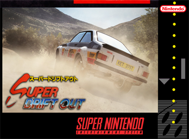 Super Drift Out - Fanart - Box - Front