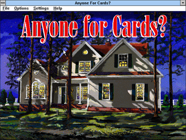 Anyone for Cards? - Screenshot - Game Title