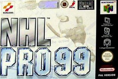 NHL Blades of Steel '99 - Box - Front