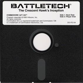 BattleTech: The Crescent Hawk's Inception - Disc