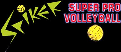 Spiker! Super Pro Volleyball - Clear Logo