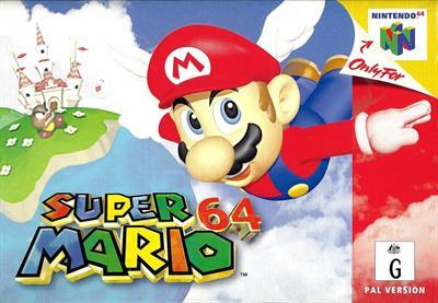 Super Mario 64 - Box - Front