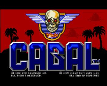 Cabal - Screenshot - Game Title