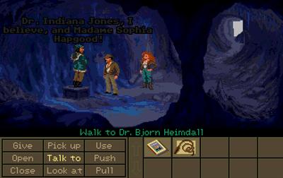 Indiana Jones and the Fate of Atlantis - Screenshot - Gameplay