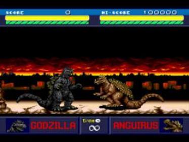 Godzilla Bakutou Retsuden - Screenshot - Gameplay