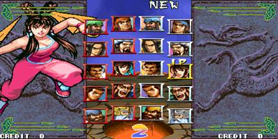 Knights of Valour: Yi Tong Zhong Yuan - Screenshot - Game Select