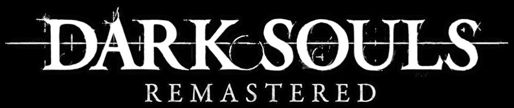 Resultado de imagem para dark souls remastered logo png