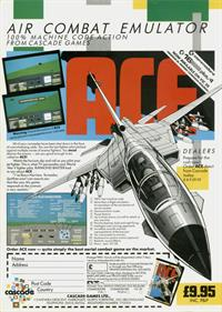 ACE: Air Combat Emulator - Advertisement Flyer - Front