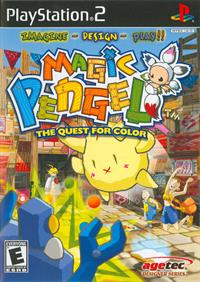 Magic Pengel: The Quest for Color - Box - Front