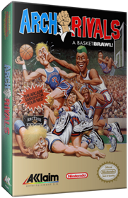 Arch Rivals: A Basketbrawl! - Box - 3D