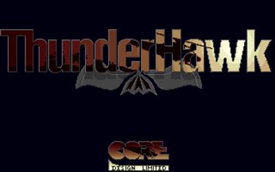 Thunderhawk AH-73M - Screenshot - Game Title