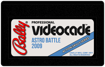 Astro Battle - Cart - Front