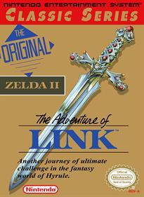 Zelda II: The Adventure of Link - Box - Front - Reconstructed