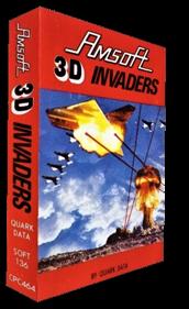 3D Invaders - Box - 3D