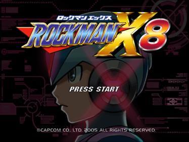Mega Man X8 - Screenshot - Game Title