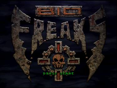 Bio F.R.E.A.K.S. - Screenshot - Game Title