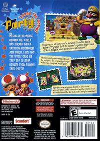 Mario Party 7 - Box - Back
