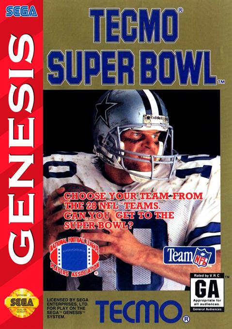 Tecmo Super Bowl Details Launchbox Games Database