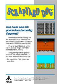 Scrapyard Dog - Box - Back