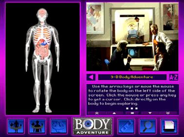 3-D Body Adventure - Screenshot - Gameplay