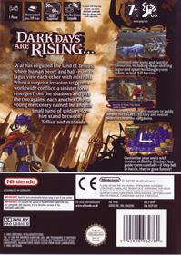Fire Emblem: Path of Radiance - Box - Back