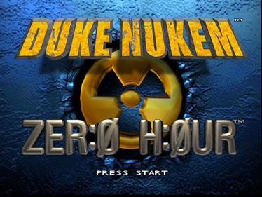 Duke Nukem: Zero Hour - Screenshot - Game Title