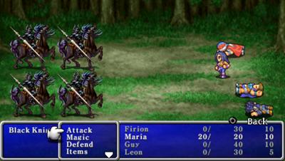 Final Fantasy II - Screenshot - Gameplay