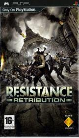 Resistance: Retribution - Box - Front