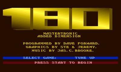 180 - Screenshot - Game Title
