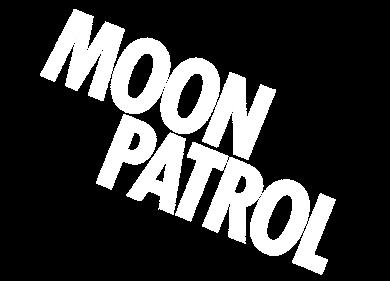 Moon Patrol - Clear Logo