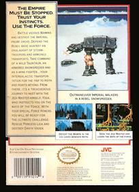 Star Wars: The Empire Strikes Back - Box - Back
