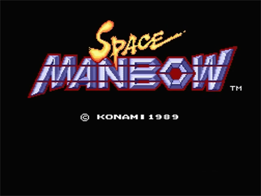Space Manbow - Screenshot - Game Title