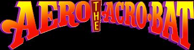 Aero the Acro-Bat - Clear Logo