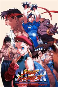 Super Street Fighter II: The New Challengers - Fanart - Box - Front