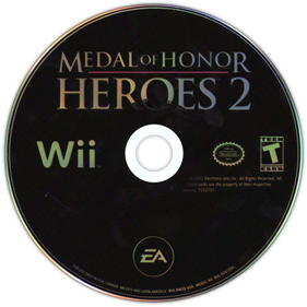 Medal of Honor: Heroes 2 - Disc