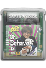 Austin Powers: Oh, Behave! - Cart - Front
