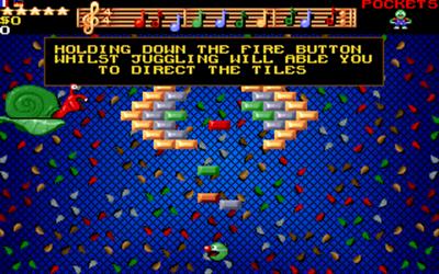 Wizkid: The Story of Wizball II - Screenshot - Gameplay