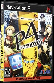 Shin Megami Tensei: Persona 4 - Box - 3D