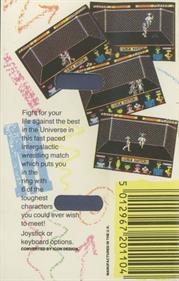 Intergalactic Cage Match - Box - Back