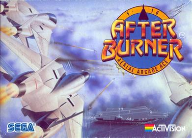 After Burner - Box - Front