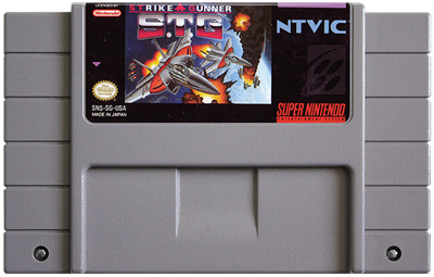 Strike Gunner: S.T.G - Cart - Front
